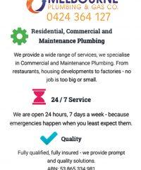 Melbourne Plumbing & Gas Co.