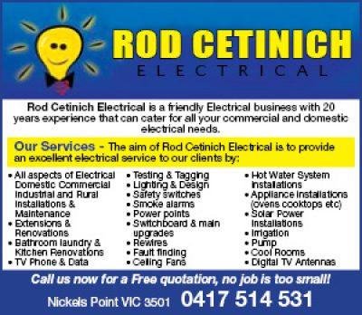 Rod Cetinich Electrical